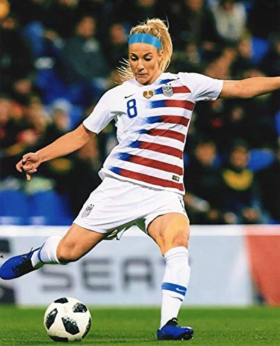 JULIE ERTZ USA WOMEN'S SOCCER 8X10 SPORTS ACTION PHOTO (OO) (X Oo)