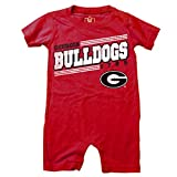 Cotton Willy NCAA Boys Infant Short Sleeve Romper