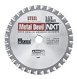 MK Morse CSM5383258NSC Metal Devil NXT Circular Saw Blade, 5-3/8-Inch Diameter, 32 Teeth, 5/8-Inch Arbor, for Steel Cutting