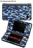 Nintendo DSi XL Skin WraptorCamo Digital Navy
