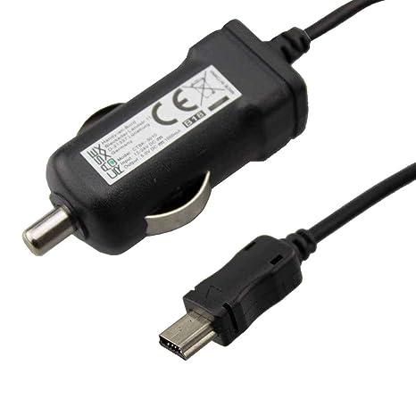 caseroxx Cargador de Coche Mini USB Câble para Garmin Nüvi ...