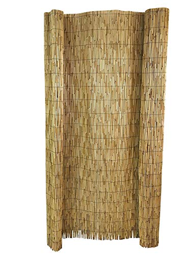 Master Garden Products RF5 Reed Fence 5#039H x 14#039L Yellow