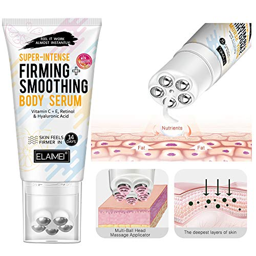 Slim Cream, Cellulite Removal Fat Burning Cream for Belly with Massage Roller, Thermogenic Weight Loss Break Down Fat Tissue, Tightens Skin Perfectly Shape Waist,Abdomen and Buttocks (slim cream-A)