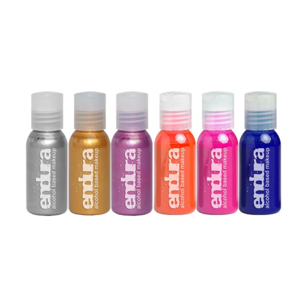 Endura Fluoro Metallic 6 Pack, 0.5oz