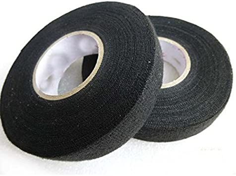 Amazon.com: Adecco LLC 2 Rolls Wire Loom Harness Tape, Wiring Harness Cloth  Tape, Adhesive Fabric Tape for Automobile 15m/19mm: Office ProductsAmazon.com