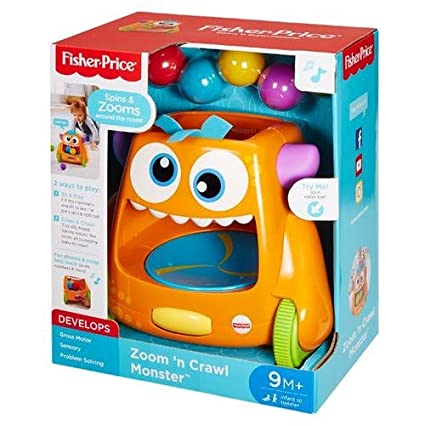 a8ce7806b Fisher-Price Zoom 'n Crawl Monster: Amazon.ca: Toys & Games
