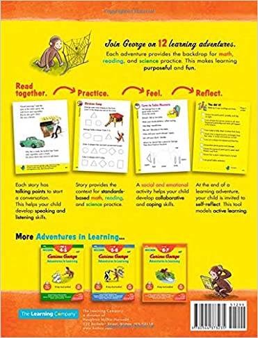 Curious George Adventures in Learning, Grade 1: Story-based ...