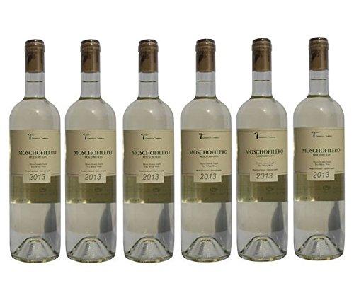 Moschofilero trockener Weißwein 750ml Tatakis aus Griechenland griechischer Weiß Wein trocken - ein edler Sommerwein + 2 Probiersachets Olivenöl 10ml aus Kreta