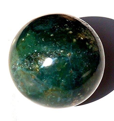 Kala Emporium/® Pierre pr/écieuse naturelle Boule Boule sang Pierre 40 50/mm M/étaphysiques Aura /équilibre