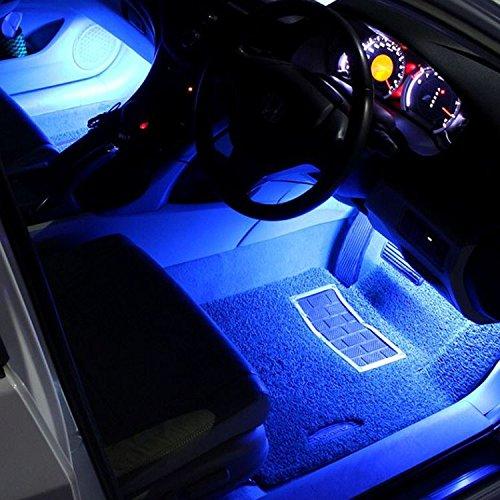 Strisce Led Per Auto Interni.Justech 12v 36leds Strip Lights Interior Car Lights Under