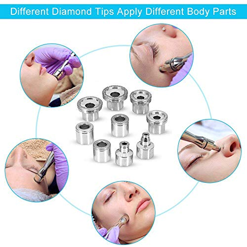 3 in 1 Diamond Microdermabrasion Machine, TopDirect Facial Skin Care Salon Equipment w/Vacuum & Spray (Strong Suction Power: 65-68cmhg) by Topdirect (Image #3)