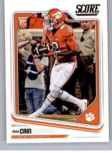 2018 Score #393 Deon Cain Clemson Tigers Rookie RC Football Card