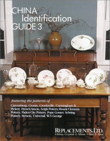 By Dale Frederiksen China Identification Guide 3 - Canonsburg, Paden City Pottery, Pope Gosser, Sebring Pottery, W. S. G [Paperback]