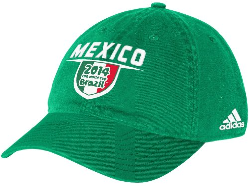 Mexico Adidas 2014 FIFA World Cup Adjustable Slouch Hat