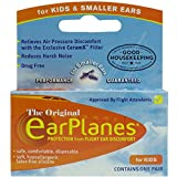 EarPlanes Ear Plugs Kid's Small Size 1 Pair (Pack of 2)