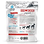 Farmland Traditions Filler Free Dogs Love Chicken Premium Jerky Treats for Dogs, 3 lb. Bag 5