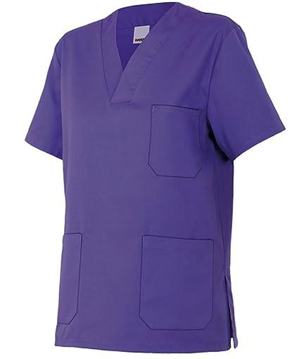 Velilla 589/C26/T0 - Camisola pijama de manga corta con escote en pico