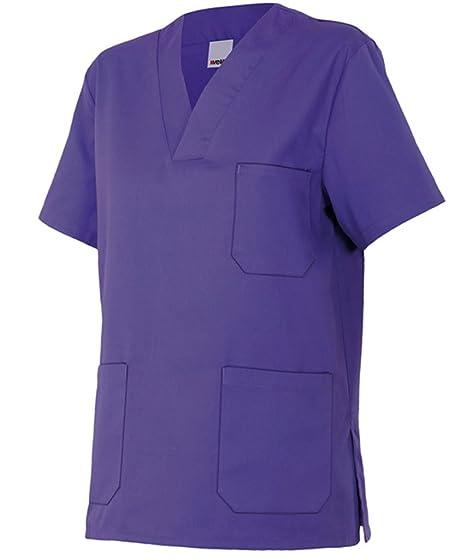 Velilla 589/C26/T0 - Camisola pijama de manga corta con escote en pico (moderno) color morado: Amazon.es: Bricolaje y herramientas