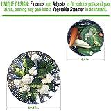 Premium Veggie Steamer Baskets - Large - 6.4-10.3