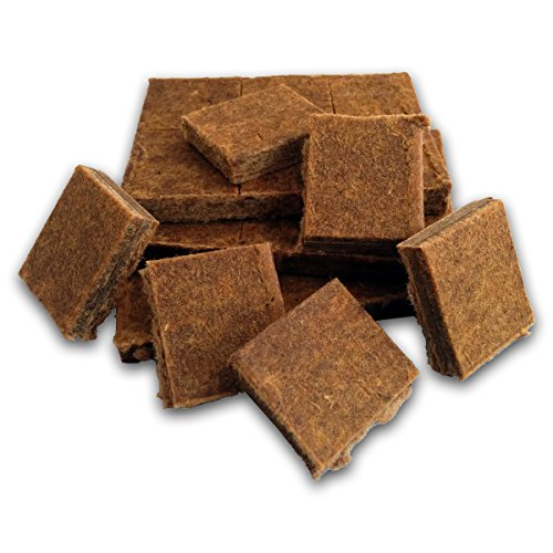 Midwest Hearth 100% Natural Charcoal Starters for BBQ Grill and Barbecue Smokers (24 Squares) - Lighting Charcoal Briquettes