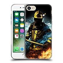 Official Jason Bullard Fireman 1 Firefighter Soft Gel Case for Apple iPhone 5 / 5s / SE