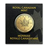 The Royal Canadian Mint's Gold Maple Leaf coins are among the world's most sought-after Gold bullion coins. Now available in a 1 gram format these Gold coins are highly attractive to first-time Precious Metal buyers as well as seasoned investors.