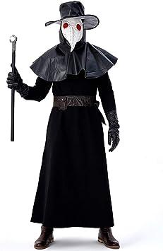 Hombre Disfraz Halloween Adulto Carnaval Cosplay Máscara De Médico ...