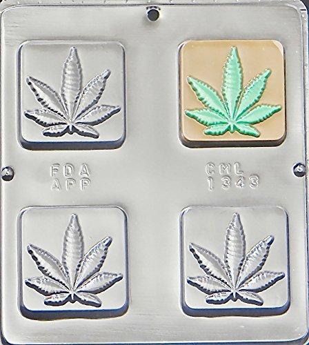Marijuana-Leaf-Pot-Leaf-Bar-Chocolate-Candy-Mold-1343