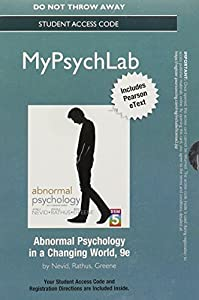 Spencer a rathus books list of books by author spencer a rathus new mypsychlab with pearson etext standalone access card for abnormal psychology in fandeluxe Image collections