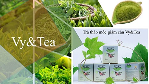 2 box (30 pack - Use 30 days) Vy & Tea - natural herbal tea help weight loss, sleep deep and purifying the body by Vy and Tea