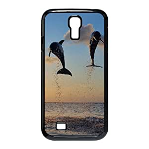 Unique Case for SamSung Galaxy S4 I9500 - The lovely dolphins ( WKK-R-517762 )