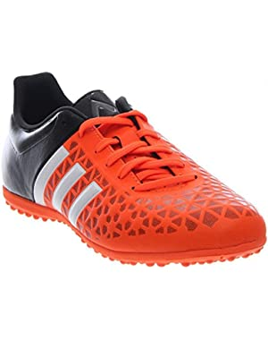 Ace 15.3 TF J Youth Round Toe Synthetic Orange Sneakers