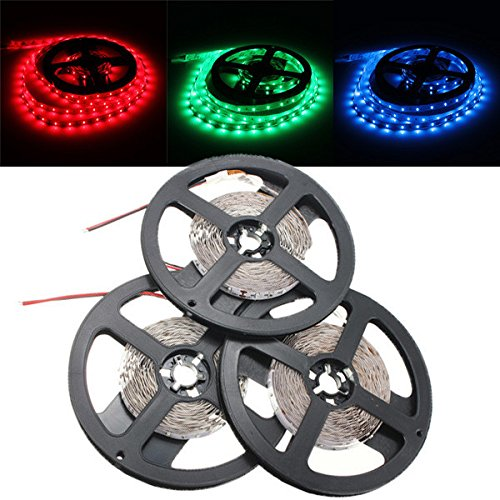 Waterproof 5M 3014 LED Strip RGB 12VDC - 8