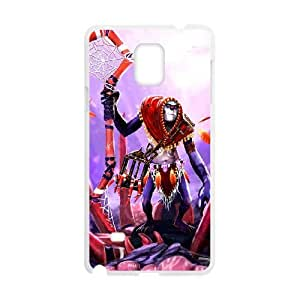 Samsung Galaxy Note 4 White phone case Witch Doctor Dota 2 DOT4172478