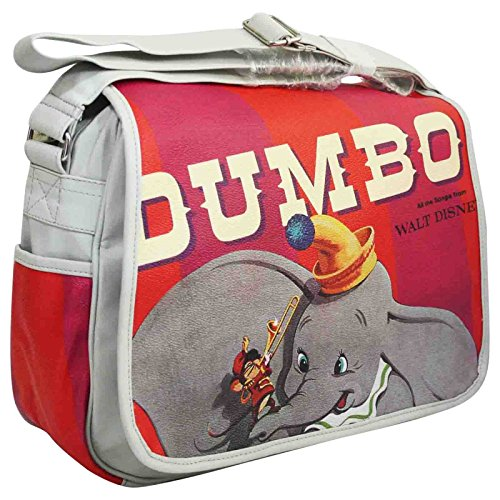Disney Dumbo Bolso por Mujer al Hombro Bolera