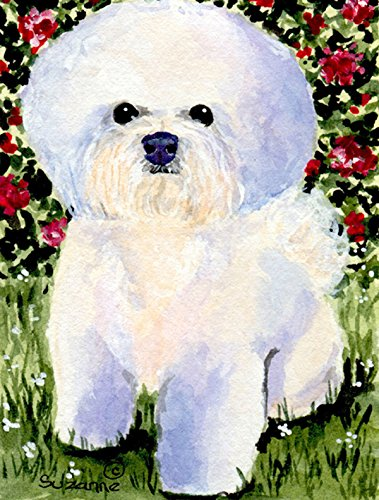 Caroline's Treasures SS8914CHF Bichon Frise Flag Canvas, Large, Multicolor Review