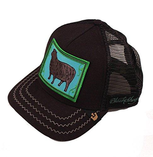 Goorin Women Accessories Hats (Animal Farm - Black Sheep Trucker)