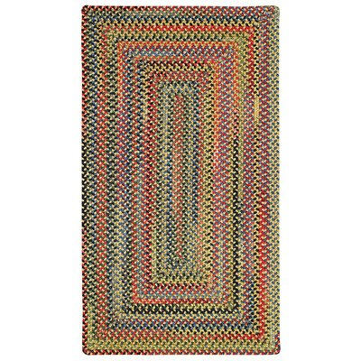 Concentric Rectangle Braided Rugs (High Rock Multi Rug Rug Size: Concentric Square 8'6