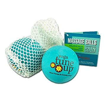 Amazon.com: Yoga Tune Up Massage Therapy Balls Pair in Mesh ...