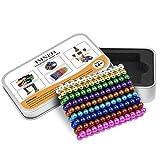 DYRDM Magnetic Building 216PCS 5mm 9 Colors Magnets Fidget Gadget Toys Rare Earth Magnet Office Desk Toy Games Magnet Toys Stress Relief Toys (Color: 9 Colors)
