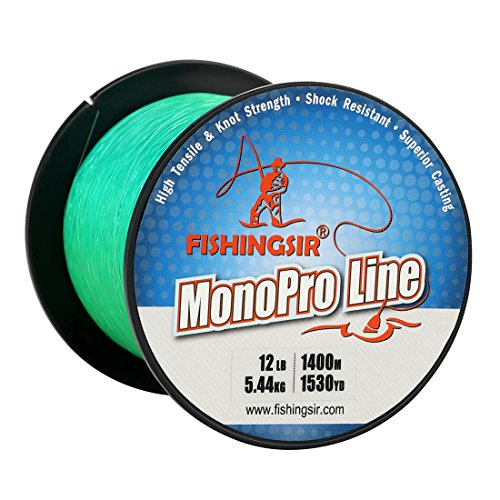 FISHINGSIR Monofilament Material Superior Resistant