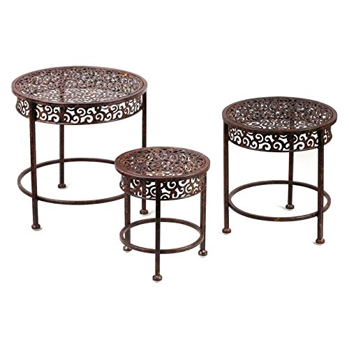 Tripar Waterfall Plant Stands - Set of 3
