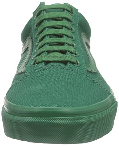 Vans Classic Slip-On, Baskets Basses Mixte Adulte Vert (Verdant Green) ...