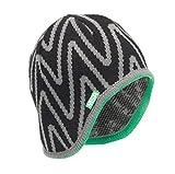MSA Safety 10118417 V-Gard Liner for Caps, Acrylic, Standard, Black/Green (Pack of 12)
