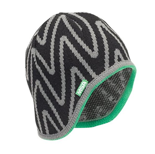 MSA Safety 10118417 V-Gard Liner for Caps, Acrylic, Standard, Black/Green (Pack of 12)