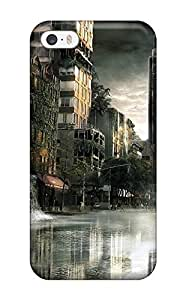 Barbauller LBsqQHs1025wGYsf Case Cover Iphone 5/5s Protective Case Post Apocalyptic