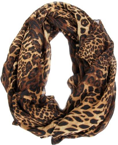l'atteggiamento migliore 17bab 9df46 Calonice Amorino Sciarpa donna stampa leopardata colorata 100% Poliestere  (L) 185x95 cm (LxH) 4000