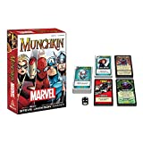 USAOPOLY MU011-000-001600-06 Munchkin Marvel Edition Game Play Set