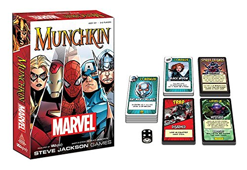 Munchkin Marvel Edition (Marvel Character Cards compare prices)