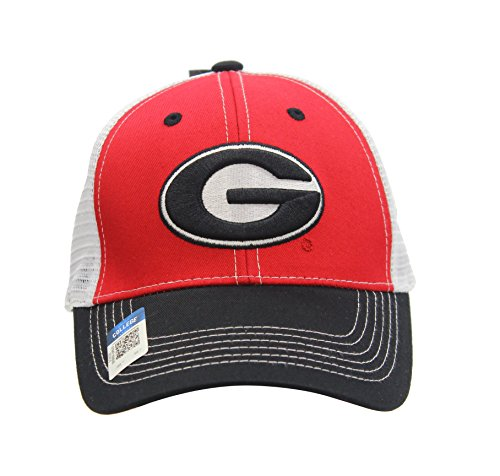 - NCAA Eliminator Mesh Trucker Snapback (University Of Georgia - Bulldogs)
